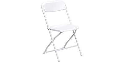 Rent White Folding Chairs